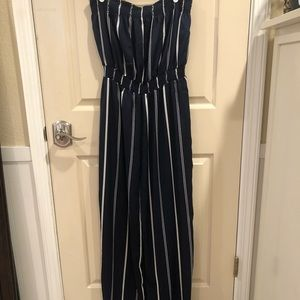 Dresses & Skirts - Striped Jumpsuit